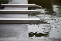 contemporary water feature - Hoveniersbedrijf Jan Abrahams BV
