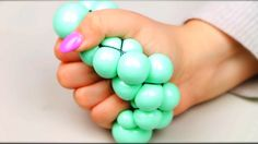 DIY stress ball More