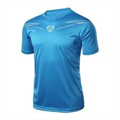Men Boy Sport Gym Bodybuilding T Shirt Workout Clothing Training Tops Tees WJ