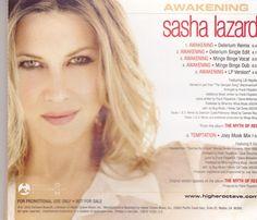 Sasha Lazard / Awakening / 2002 Higher Octave / Near Mint Promo CD Single / RARE ! #SashaLazard #Music