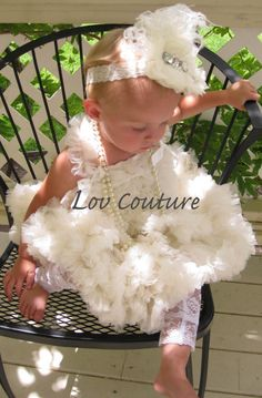 Extra Full Fluffy Chiffon Petti Dress Special by LovCouture, $89.00