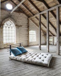 Shin Sano futonbäddsoffa från Karup Shin Sano futon sofa bed from Karup