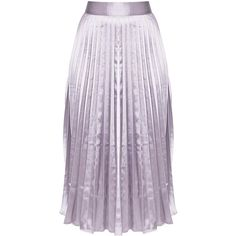 Harmonia Blush Satin Pleated Midi Skirt ($25) ❤ liked on Polyvore featuring skirts, mid calf skirts, satin pleated skirt, purple skirt, purple midi skirt and calf length skirts