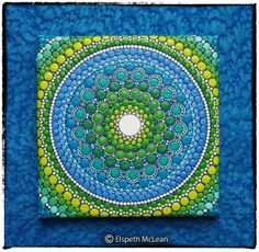 Mandala Orb inspired by the beauty of the Ocean by Elspeth McLean