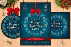 22 besten 30+ Beautiful Christmas Invitation Templates for Christmas ...