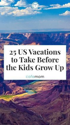 Click through to view 25 US vacation spots to take the kids before they graduate High School. Some great vacation destination within the United States. Start your family vacation planning now. Family Vacation Destinations, Vacation Trips, Cruise Vacation, Midwest Vacations, Disney Cruise, Great Vacation Spots, Mexico Vacation, Cruise Tips, Spring Break Family Vacations