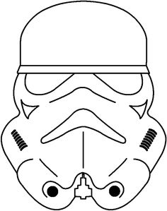 Star Wars Pumpkin Stencils Printable | ... Pages: Star Wars Coloring Page Storm Trooper Star Wars Coloring Pages