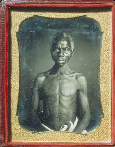 His name is Renty, he was born in the Congo, and enslaved on the plantation of B.F. Taylor, in Columbia, South Carolina