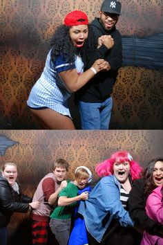 People we got to fright on Halloween night Pt. 2! www.nightmaresfearfactory.com #Halloween #HauntedHouse #NiagaraFalls #NFF #Nightmares #Fear #Factory #FEARpic #Funny #Reaction #Scared
