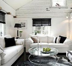 Stockholm Vitt - Interior Design: Summer Living Room