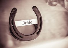 HorseShoe Bride Table Setting   #OurWedding <3 #LoveIsInTheAir #Weddingbells english-country-garden-wedding