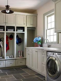 laundry room mudroom combo ideas tile flooring white mudroom lockers storage cabinets