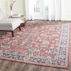 Safavieh's Artisan collection is inspired by timeless Transitional designs crafted with the softest cotton available.