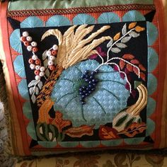 Designed by Melissa Prince, stitched by Janice Y., with Tony M's guidance