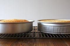 Learn how to bake up perfectly flat cakes every time! | livforcake.com