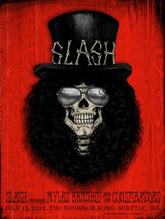 Concert Poster: Slash - Seattle, Washington