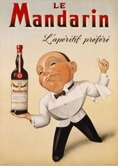 Le Mandarin. l'apéritif préféré by Jmans / 1948
