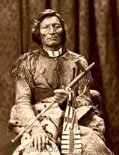 Dull Knife, Cheyenne Chief, 1873