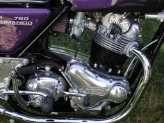Restored Norton Commando - 1972 Photographs at Classic Bikes Restored - British Motorcycles, Cars And Motorcycles, Norton Motorcycle, Norton Commando, Classic Bikes, Street Bikes, Motors, Cycling, Drawers