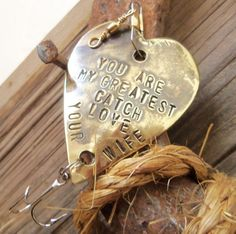 Personalized Fishing Lure Fishing Engraved by CandTCustomLures..great gift for Dan