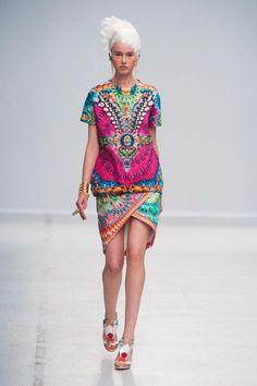 Défile Manish #Arora Prêt-à-porter Printemps-été 2014 - Look 27