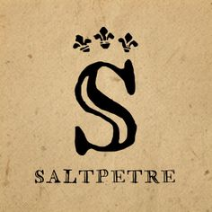 Image of Saltpetre Font $39 so not going to get it, but i think it is pretty. Inspiration someday