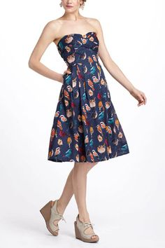 Maeve Native Birds Dress, $158, available at Anthropologie.