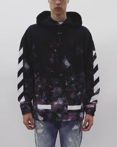 "16c851d294a  off    white 🌌 ""GALAXY"" oversized hoodie available at LIVƎ and  www.livenola."