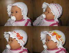 Babymütze, Wechselbänder, Sommermütze, Sonnenhut von IDS-Style auf DaWanda.com