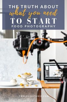 Do you need the most expensive camera? Or baking skills that would rival Nigella Lawson? Click to read the truth about what you actually need to start food photography.  #twolovesstudio #beautifulcuisine #foodbloggerpro #foodphotography #learnfoodphotography #foodblogger #learnphotography #foodstyling #lightingtips #naturallight #foodphotographer
