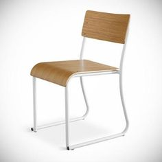 Set of 2 Church Chairs in Multiple Finishes design by Gus Modern