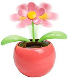 Solar Powered Dancing Flower Just $2.09 SHIPPED!