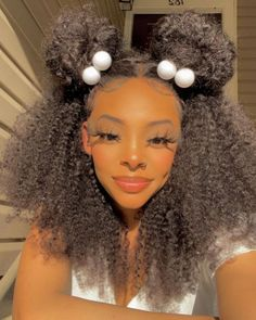 Who would like to rock this beautiful curly unit on the NEW season?👋👋 Headband Wigs, Headbands, Curly Hairstyles, Straight Hairstyles, Jerry Curl, Ponytail Bun, High Ponytails, Lazy Girl, Wig Cap
