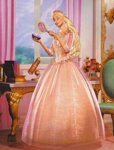 Princess Anneliese from Barbie's Princess and the Pauper (Die Prinzessin und das Dorfmädchen) Disney Barbie, Barbie Cartoon, Dress Barbie, Barbie Barbie, Barbie Cake, Princess And The Pauper, Barbie Images, Barbie Movies, Princesa Disney