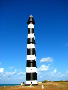 Farol do Calcanhar http://en.wikipedia.org/wiki/Calcanhar_LighthouseTouros,Rio Grande do Norte, Brasil-5.161128,-35.486483
