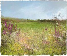 Amanda Hoskin - Field of Flowers, near Ninnes bridge
