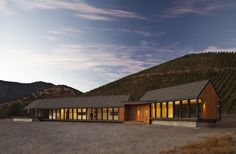 like the slight elevation shifts and the simple pallette -  Wine Tasting House in Maipo Winery / Claro+Westendarp