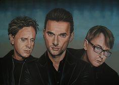 Koop 'Depeche Mode schilderij' van Paul Meijering voor aan de muur.