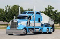 """El Patrón"" Kenworth- Im so digging the color Show Trucks, Big Rig Trucks, Dump Trucks, Old Trucks, Lamborghini, Ferrari, Custom Big Rigs, Custom Trucks, Ranger"