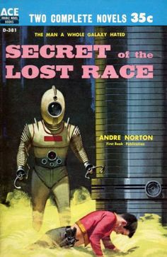 """The secret of the lost race could be this terrifying robot, or this strange yellow gas, or, it could be my awesome belly shirt."""""""
