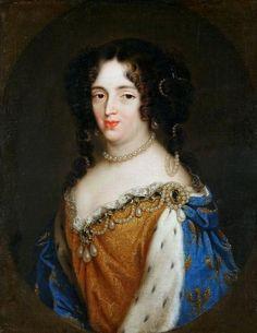Portrait of Marie Casimire Sobieska by Claude Callot, ca. 1684 (PD-art/old), Zamek Królewski na Wawelu