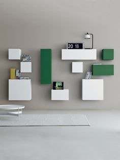 Spazio M131 modular wall unit