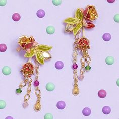 🌸💜 NEW   The Statement Fuchsia Drop Earrings 💜🌸 Looking for something spectacular to adorn your ears with this summer? We got you! ✨...#BillSkinner #fuchsia #fuchsiajewelry #fuchsiaearring #statementearrings #jewellerydesign #swarovski #flatlay #flatlaystyle #pastel #colours #enamel #statementjewellery #stilllifephotography #fashionphotography #jewellerylover Still Life Photography, Fashion Photography, Statement Earrings, Drop Earrings, Pastel Colours, Flatlay Styling, You Got This, Ears, Swarovski