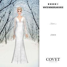 ✨Covet Fashion   Event/Theme: Winter Wonderland Bride✨