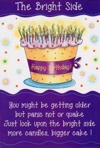 Birthday, the bright side