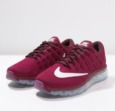 Nike Performance AIR MAX 2016 Baskets basses noble red white pink  blast night maroon fuchsia flux 7d206b4854e