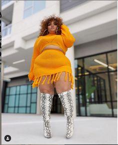 Chubby Girl, Chubby Ladies, Curvy Women Fashion, Plus Size Fashion, Womens Fashion, Full Figured Women, Biker Girl, Beautiful Curves, Size Clothing