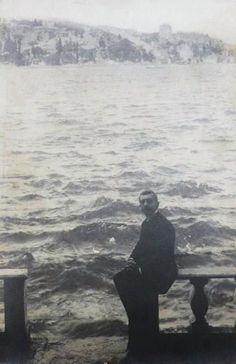 istanbul aşığı adı bugün bir tepeyi süsleyen Pierre Lotti 1910's