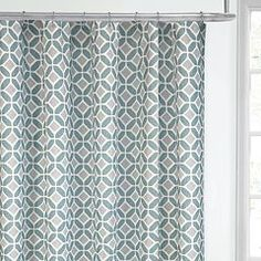 Update Your Bathroom Decor With This Colordrift Inner Circle Shower Curtain