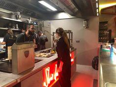 LUME by Lucía Freitas. Nuevo espacio gastronómico en Santiago | De sobremesa con Marta Mirror, Bathroom Red, Santiago, Space, Mirrors